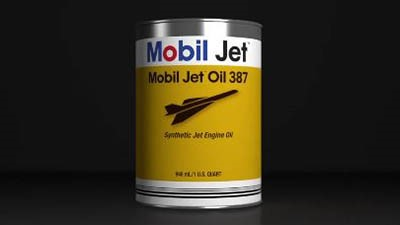 Mobil Jet Oil 387 approved for IDG use