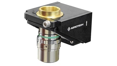 Microscope objective and optics positioning piezo stage