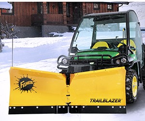 Fisher Trailblazer UTV V-plow