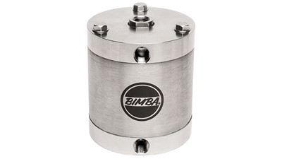 All stainless-steel compact cylinder