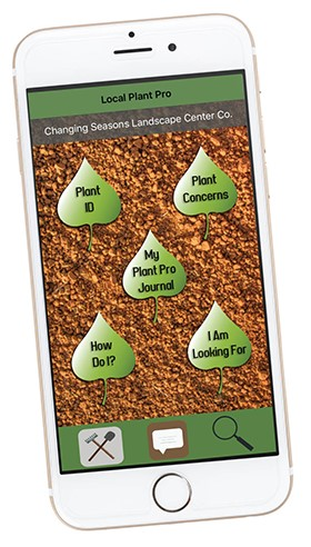 The Local Plant Pro Phone App