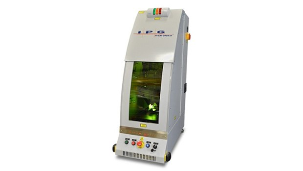Micro-multi-axis laser processing workcell