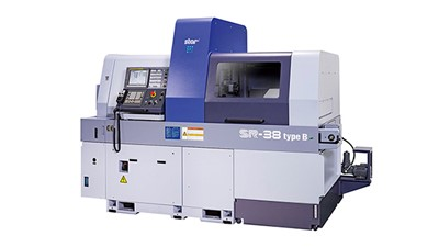 10-axis Swiss-type automatic lathe