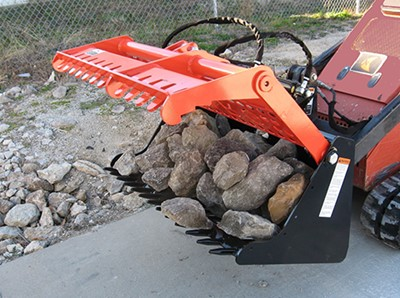 "42"" Sweep Action Rock Grapple"