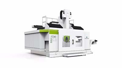 Compact milling machine