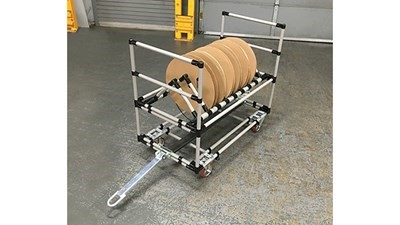 Cart for reels and spools