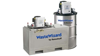 WasteWizard solution recycling system