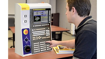 Fanuc America's CNC simulator for education