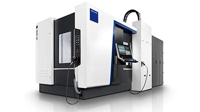 HMC for 5-axis production