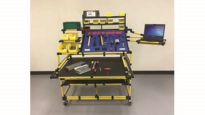 Machine tool cart