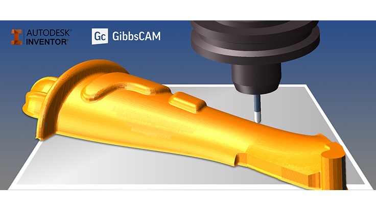GibbsCAM certified for Autodesk Inventor 2017