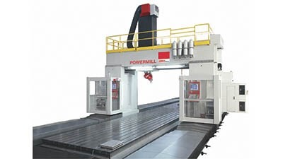 Powermill machining center
