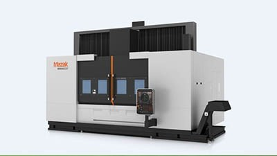 Large-part vertical machining center