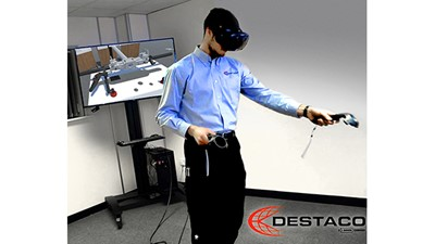 Accelerate Vision virtual reality