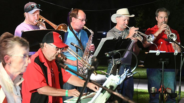 Band Blitz raises awareness for GreenCare for Troops