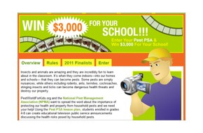 PPMA Invites Pest Professionals to Involve Schools in PSA Contest