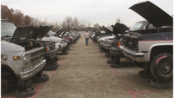 Alaskan effort targets abandoned vehicles