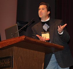 Masterson Presentation a Highlight of Purdue Conference