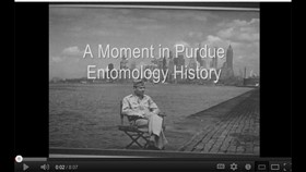 Video: A Moment in Purdue Entomology History — J.J. Davis