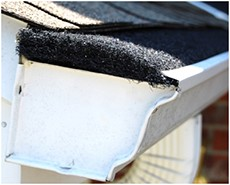 Rain Mover is a Fiber Filter Gutter Protection System