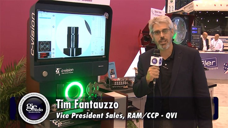 IMTS 2016 Booth Tour: Quality Vision International Inc. [VIDEO]