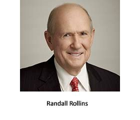 Randall Rollins Recognized by Emory University