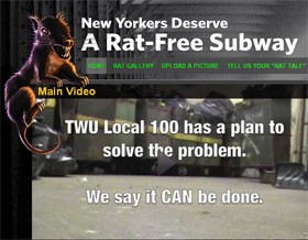 N.Y. Subway Workers Run 'Rate My Rat' Photo Contest