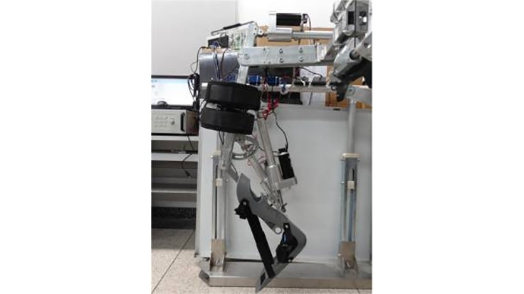 Bio-inspired lower-limb robotic exoskeleton