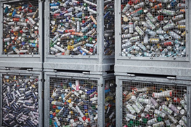 Remondis division opens aerosol can recycling facility