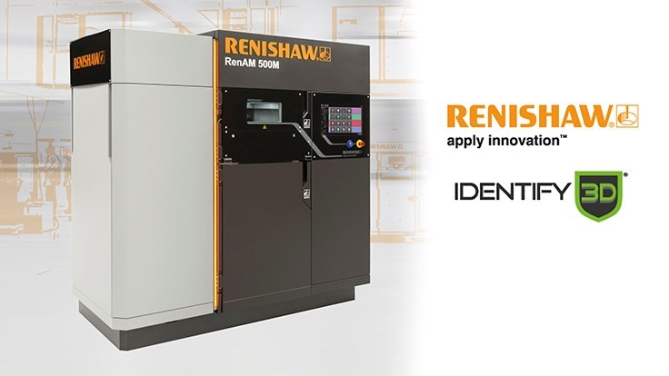 Renishaw, Identify3D collaborate to provide secure digital manufacturing