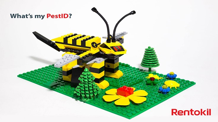 LEGO Pests Make for a Fun Rentokil Promotion