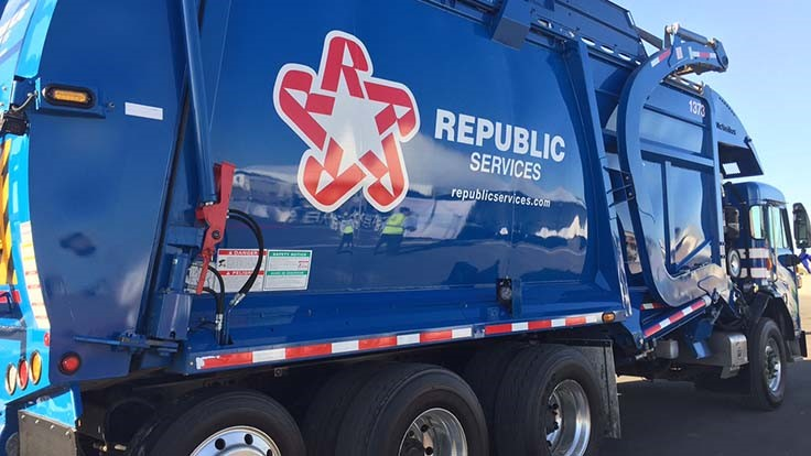 Republic Services expands CNG refuse truck fleet