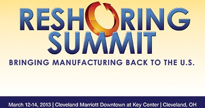 Harry Moser to Speak at Inaugural Reshoring Summit