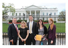 RISE Delivers Pollinator Petition to White House Council on Environmental Quality