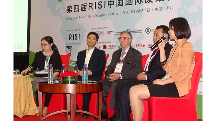 RISI event focuses on China's paper recycling sector