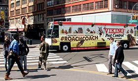 Viking Pest Control Introduces Roach Coaches