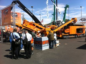 Rockster Reports Positive Response at ConExpo