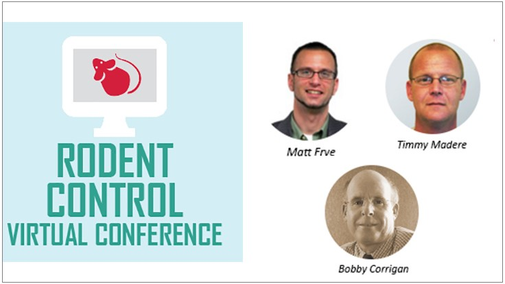 Strong Speaker Lineup Highlights PCT's Rodent Control Virtual Event