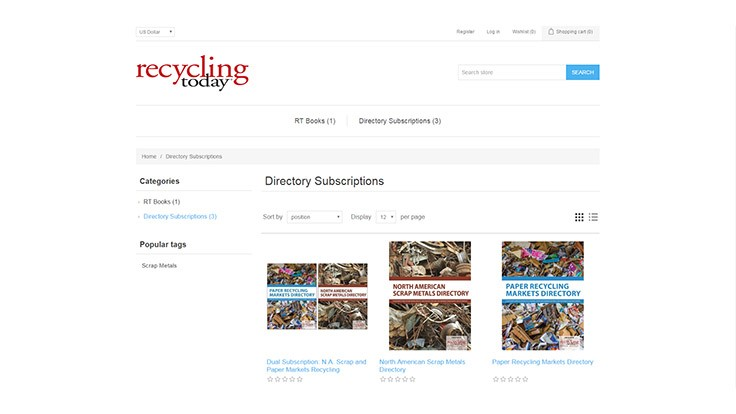 Recycling Today Media Group releases digital directories