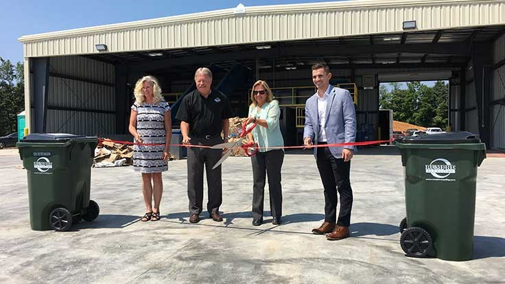 Rumpke opens recycling center in southern Indiana