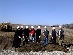 Sadoff Breaks Ground on New Facility