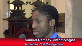 Video: Interview With New Entomologist Samuel Ramsey