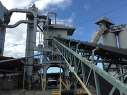 San Francisco to Auction Asphalt Plant
