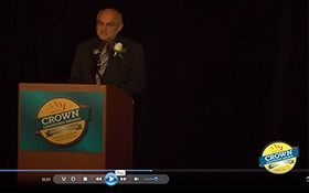 Video: Crown Leadership Winner Dr. Coby Schal Recognized
