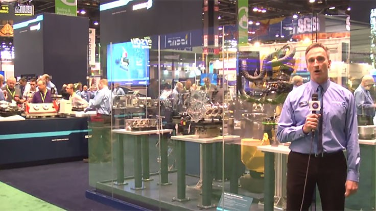 IMTS Booth Tour 2016: Schunk USA [VIDEO]