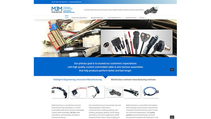 MJM Industries launches new website