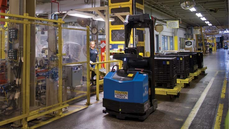Seegrid wins autonomous material handling vehicle contract