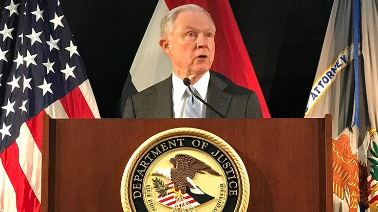Attorney General Calls for End to Protections for State-Legal MMJ Businesses