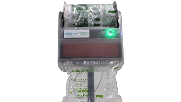 Sealed Air Introduces New Inflatable Packaging System