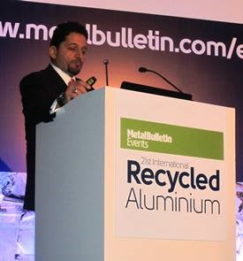 CEO of Sharif Metals International Addresses Aluminum Event
